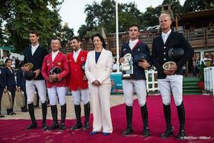 Une victoire française dans le Grand Prix du CSIO de Rabat !