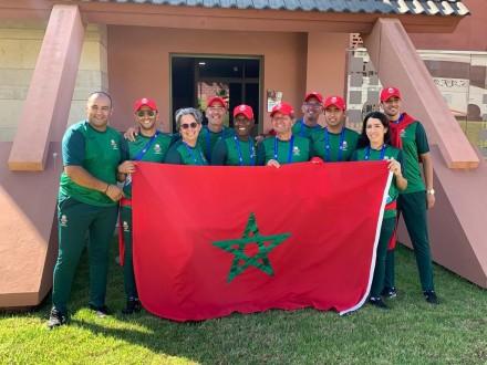 Les meilleurs cavaliers Marocains participent aux Jeux Africains
