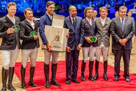 L'Italien Roberto Torchito s'adjuge le Grand Prix SM le Roi Mohammed VI