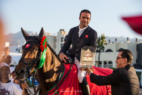 Olivier Perreau remporte le Prix SAR le Prince Héritier Moulay El Hassan