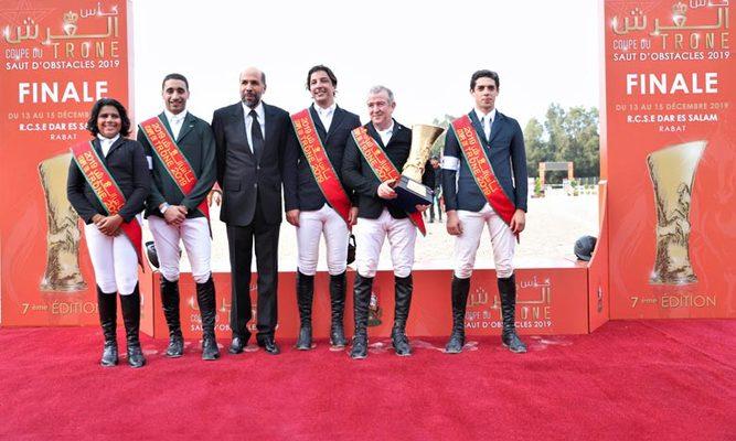 L'Étrier de Casablanca «B» remporte la 7e Coupe du Trône