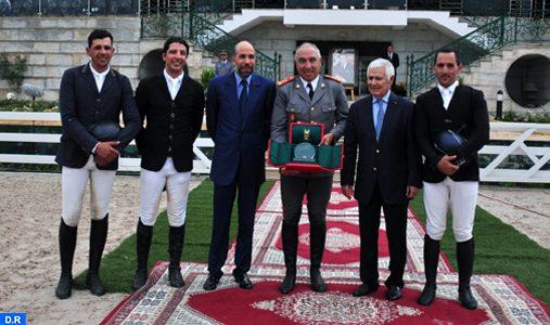 Zacaria Boubouh remporte le Grand Prix SM le Roi Mohammed VI