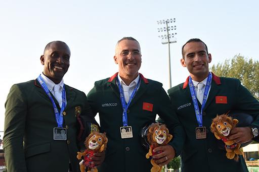 Les Marocains dominent le podium