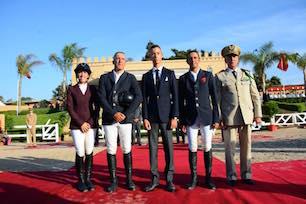SAR le Prince Héritier Moulay El Hassan préside la remise du Grand Prix SM le Roi Mohammed VI du CSO3* ERC Témara