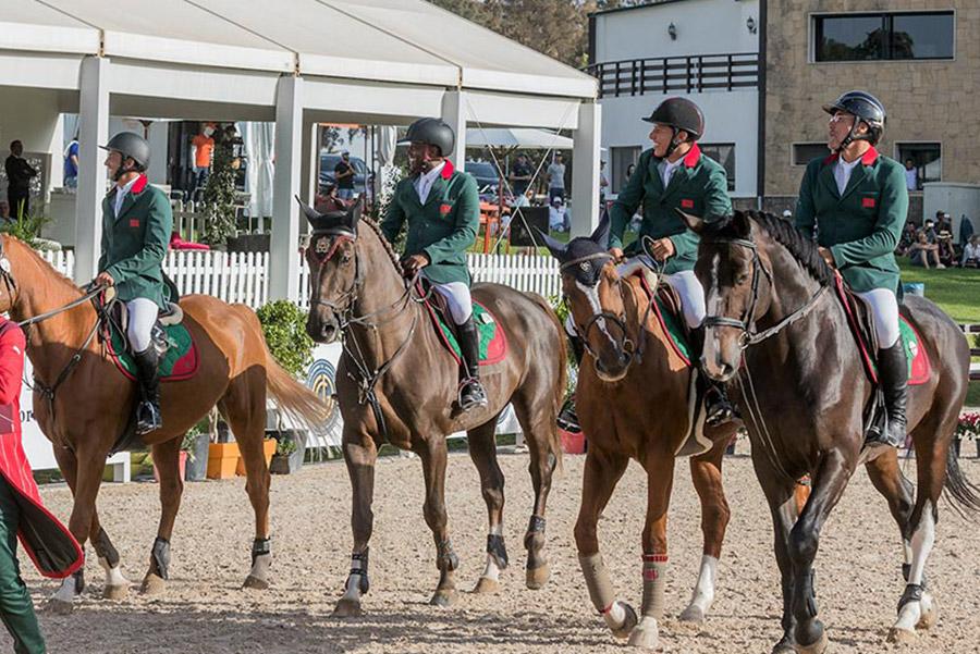 تأهيل أربعة فرسان من المنتخب المغربي للقفز على الحواجز في أولمبياد طوكيو 2020