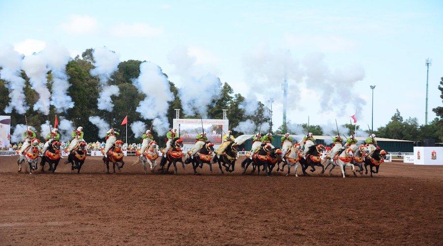 XXIe édition du Trophée Hassan II des Arts Equestres Traditionnels Tbourida 2021