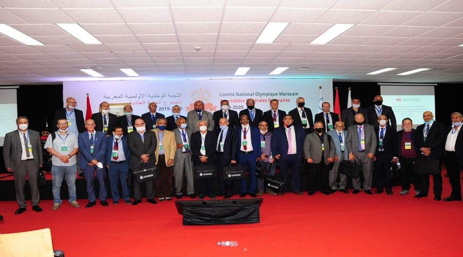 Assemblées Générales Ordinaires 2019 - 2020 organisées par le Comité National Olympique Marocain