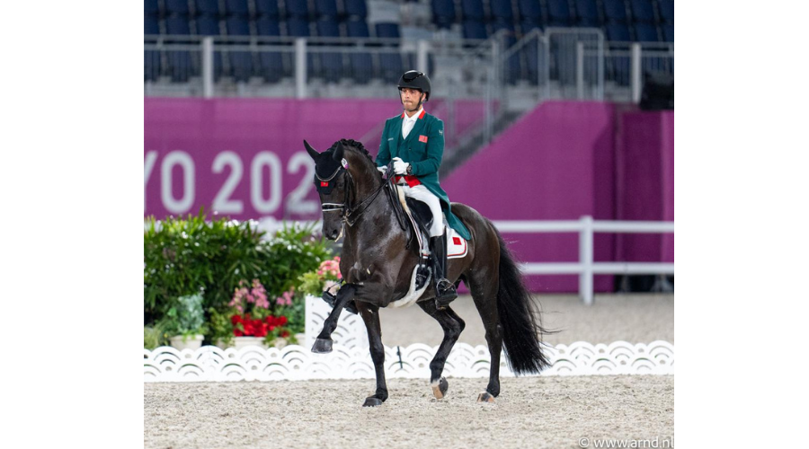 Yessin Rahmouni & All at Once réalisent une très belle performance lors de la première épreuve qualificative aux Jeux Olympiques de Tokyo 2020