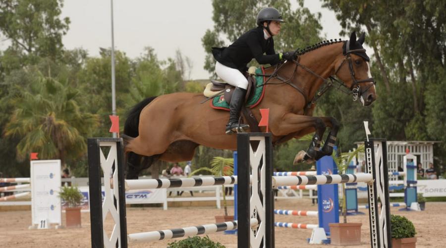 Leina Benkhraba & Ceika Malouine s'offrent leur deuxième Open Grand Prix de la saison à l'occasion du CSO 2* Etrier de Casablanca